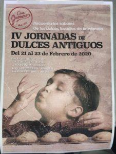 IV Jornadas de Dulces Antiguos @ En cuatro pastelerías históricas de la provincia de Cádiz, ver texto .