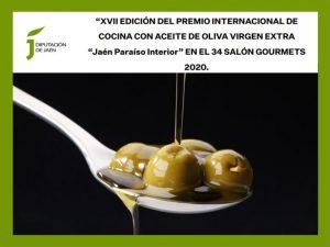 Premio Internacional de Cocina con Aceite de Oliva Virgen Extra 'Jaén Paraíso Interior' 2020. Convocatoria