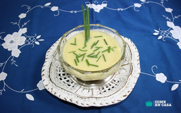 Vichyssoise ligera con y sin thermomix