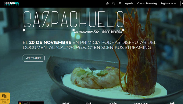 El gazpachuelo malagueño en un documental
