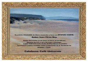 Exposición solidaria a favor de AFANAS Cádiz. @ CAFÉ UNICORNIO, CÁDIZ