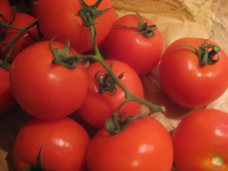 El tomate, una verdura de guardia