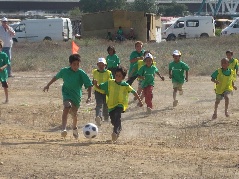 Champion League en el «Campo de la Esperanza»