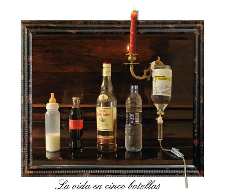 La vida en cinco botellas