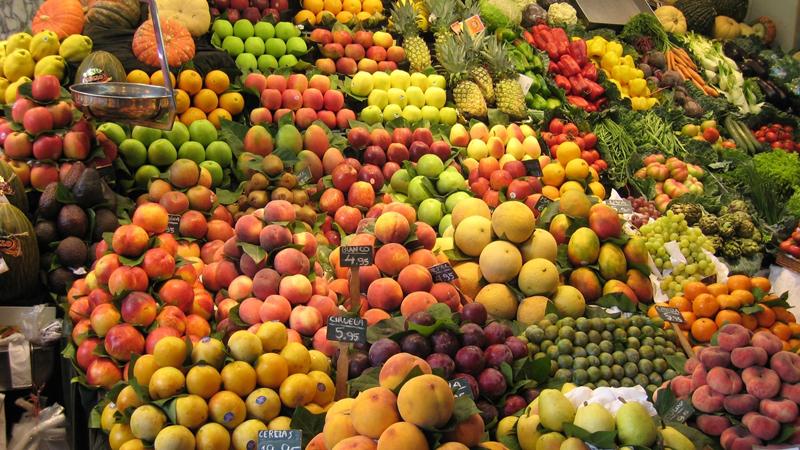 Frutas con el estómago vacío