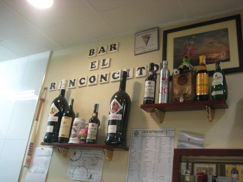 El Rinconcito, Bar de Cádiz, en La Cuatro