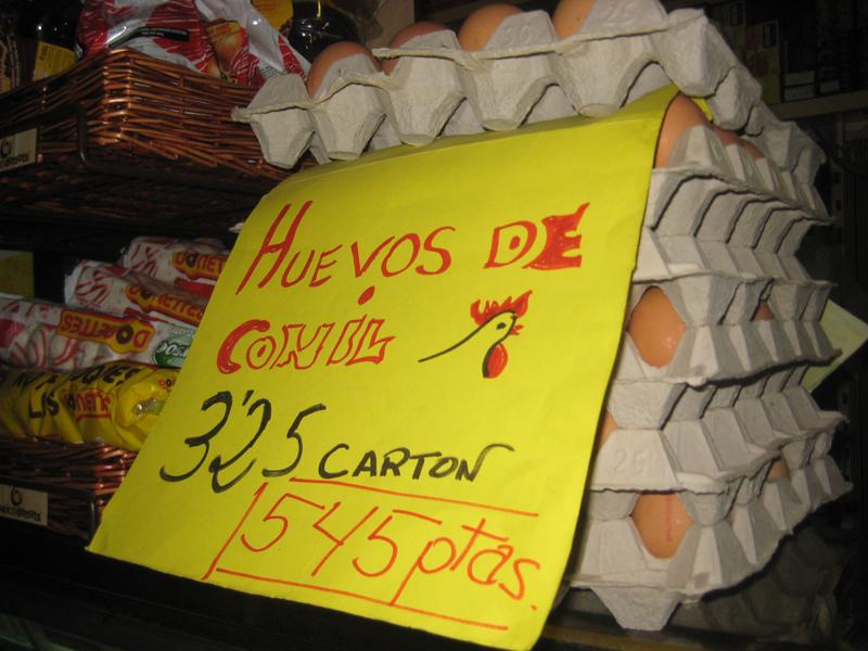 Santa María vende barato y en pesetas