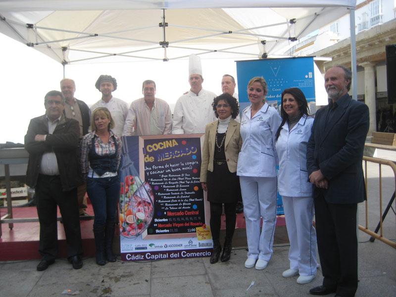 I Muestra de Cocina de Mercado en Cádiz