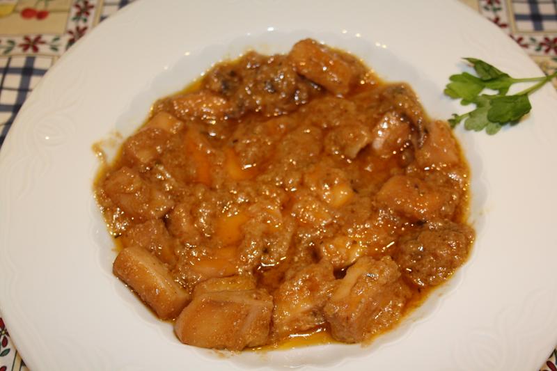 Choco en salsa de Barbate