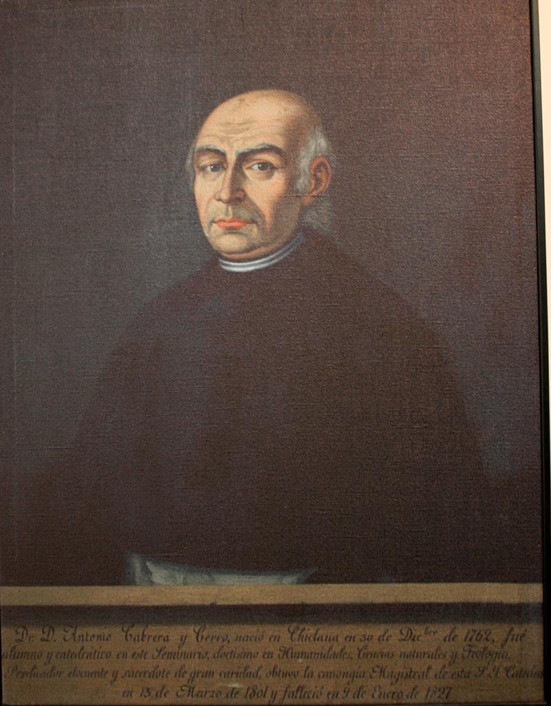 El Magistral Cabrera, nuestro ilustre vecino