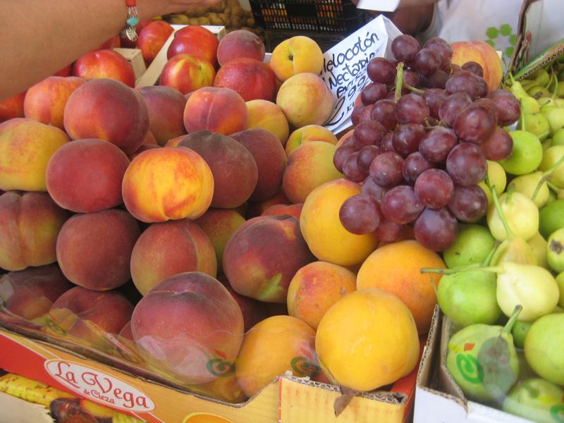 Pijerío en frutas y verduras