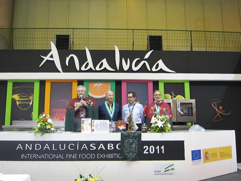ANDALUCIA SABOR 2011: asociacionismo gastronómico