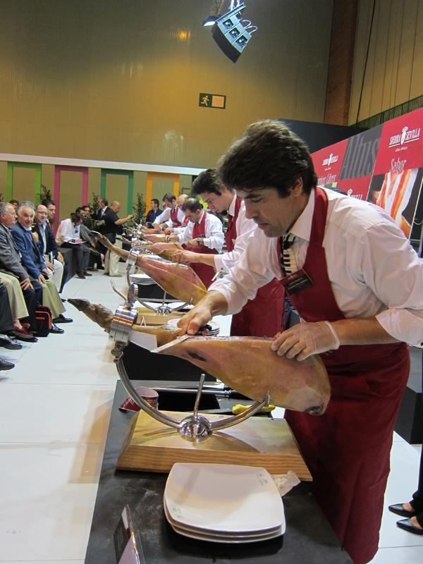 Andalucía Sabor 2011: concurso corte de jamón