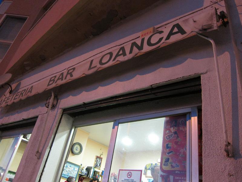 Tortillologia: Bar Loanca
