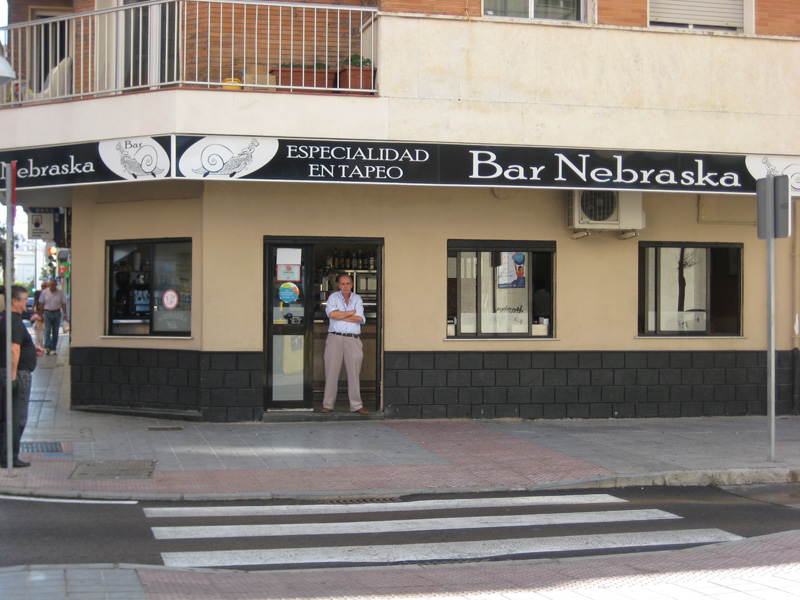 Tortillologia: Bar Nebraska