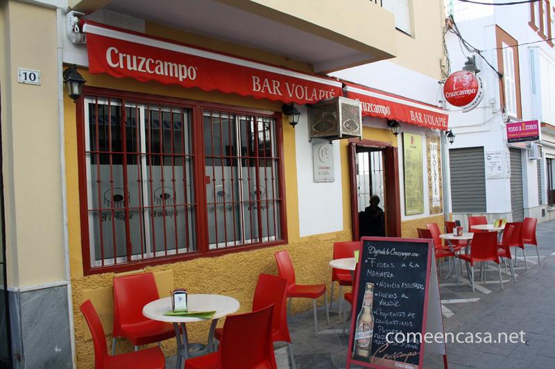 Tortillología: Bar El Volapié (Chipiona)