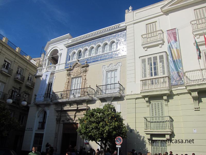 Casa de Aramburu, Cádiz