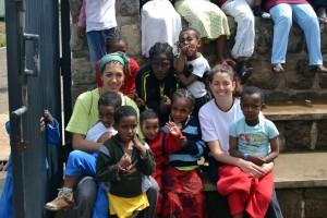 Marta y Pili en Etiopía