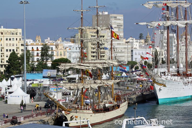 Regatas y juventud contra basura en Cádiz