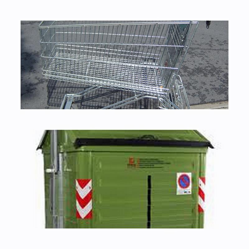 Carritos y contenedores