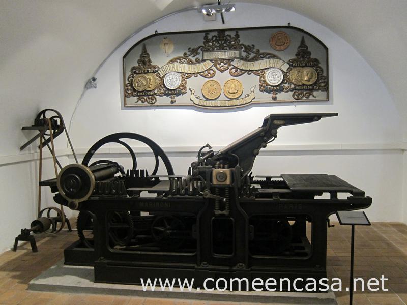 Museo Taller Litográfico de Cádiz