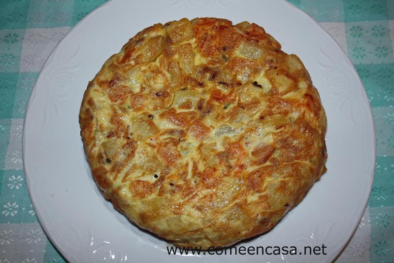 Tortillología: tortilla de calabaza