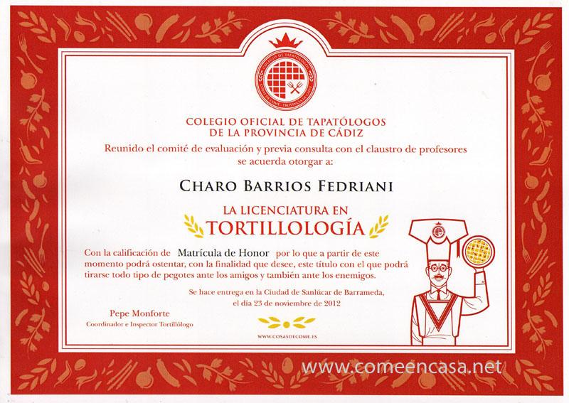 Tortillología: ya soy licenciada