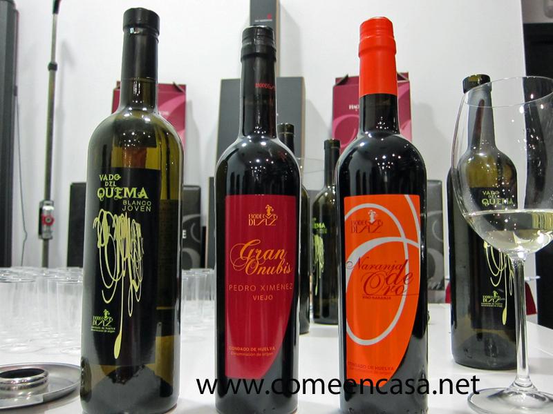 Degustación de vinos del Condado de Bodegas Díaz