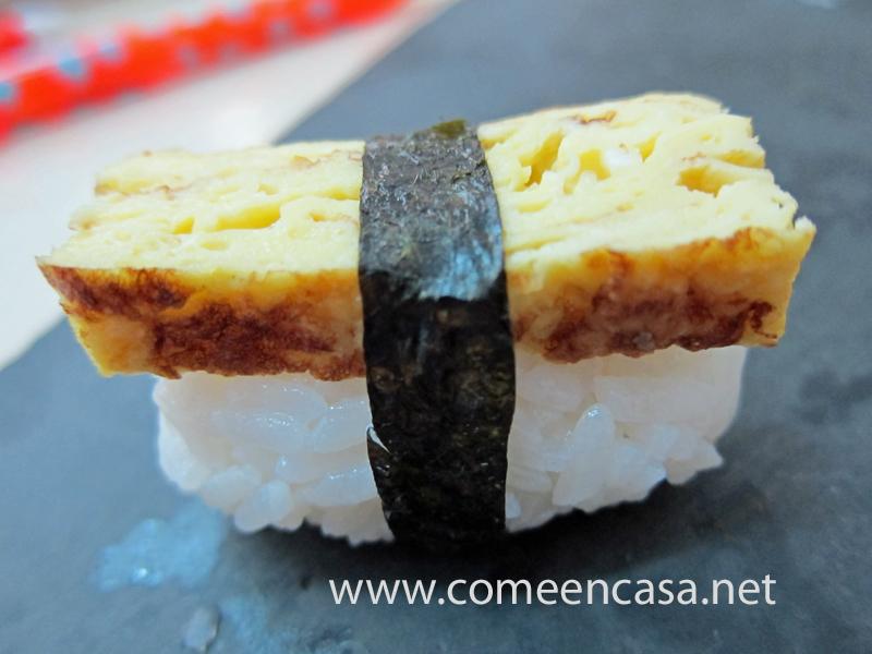 Tortillogía: tortilla sushi