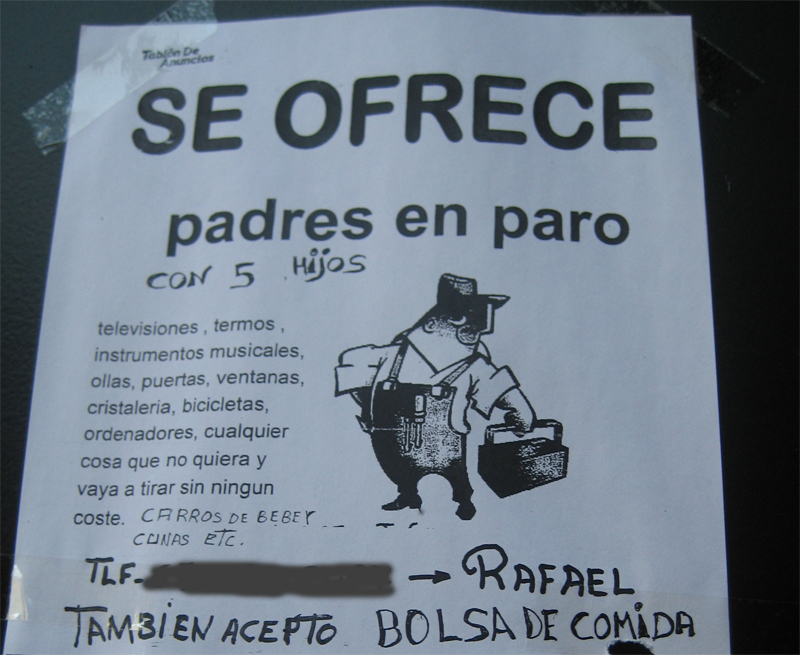Hambre infantil en España