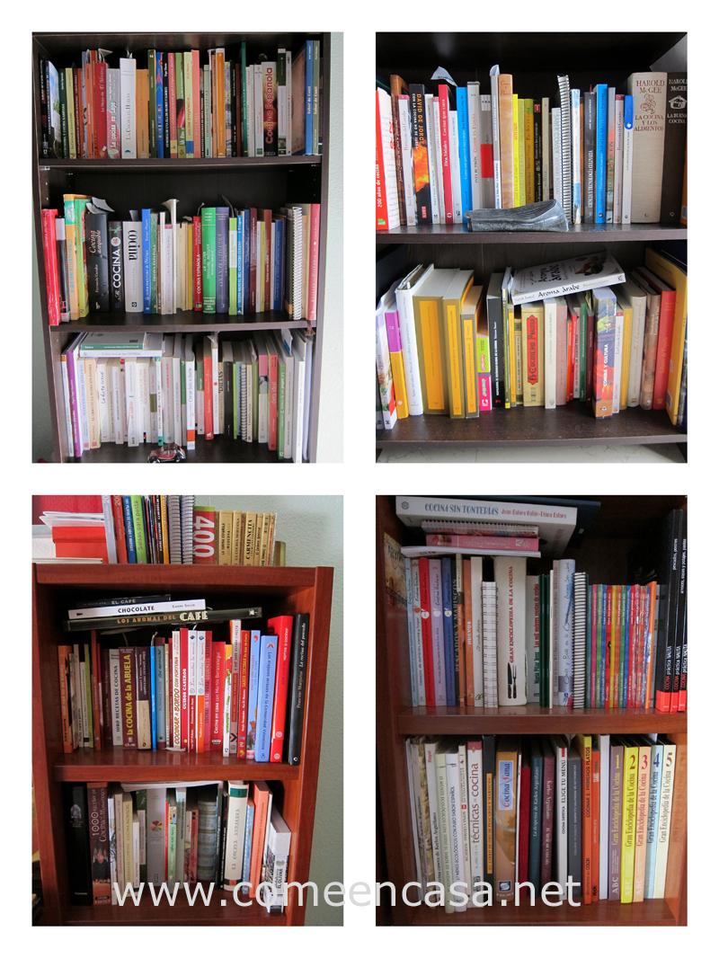 Mis libros de cocina y gastronomía