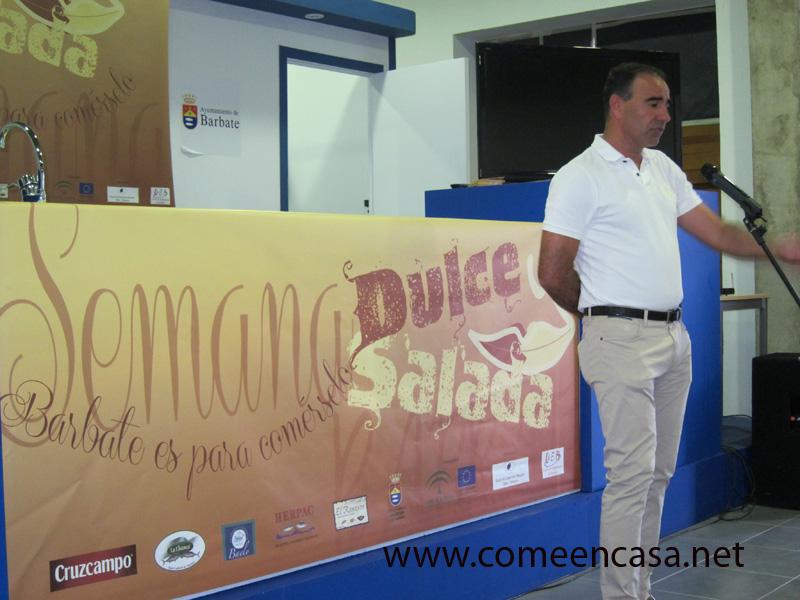 Presentación II Semana Dulce y Salada de Barbate