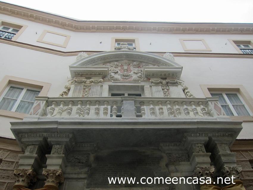 La Casa de las Cadenas, en Cádiz