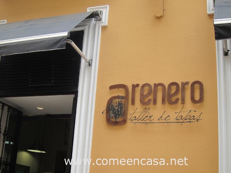Arenero, Taller de Tapas