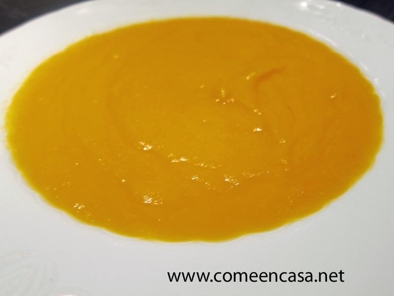 Crema otoñal de verduras (de un blog amigo)