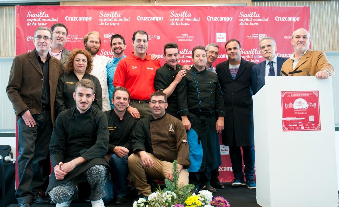 Premios Sevilla Capital Mundial de la Tapa