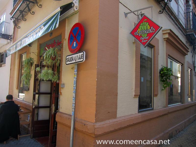 El Pimiento, en la Alameda de Sevilla