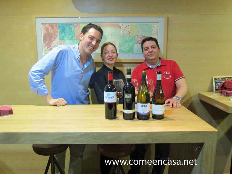 Primera cata de vinos en Messala Tapas