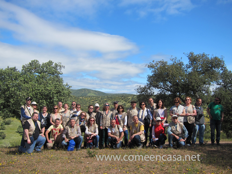 Voluntarios en Santa Olalla de Cala