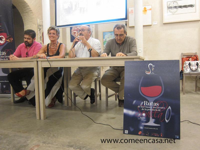 Presentación Rutas de Vinos y Licores de Sevilla