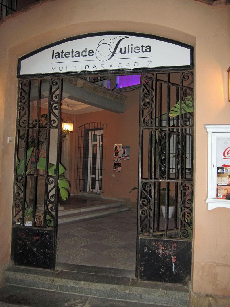 Cena en La Teta de Julieta