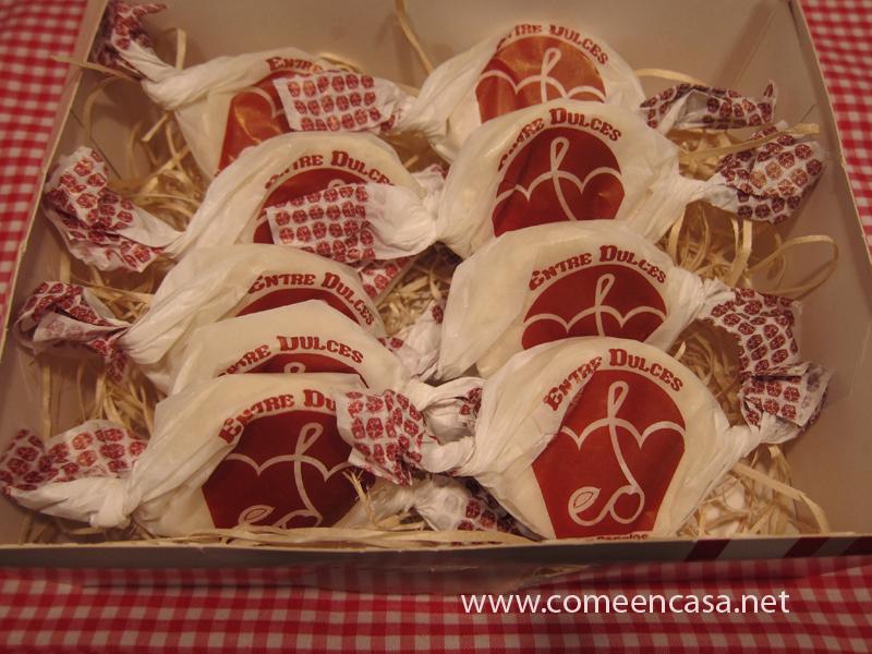 """Polvorones """"Entre dulces"""", de Manoli"""