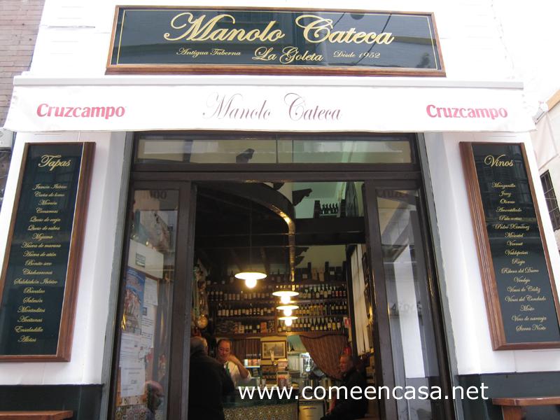 Manolo Cateca, taberna recuperada