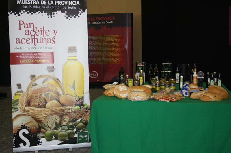 Feria de pan, aceite y aceitunas
