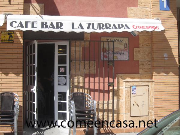 Tortillas entre amigos en La Zurrapa