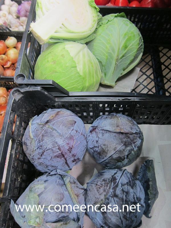 Vamos por las verduras de invierno