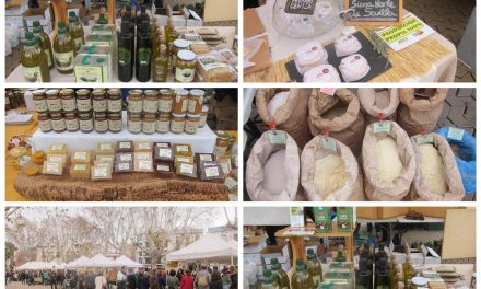 Mercadillo ecológico en Sevilla