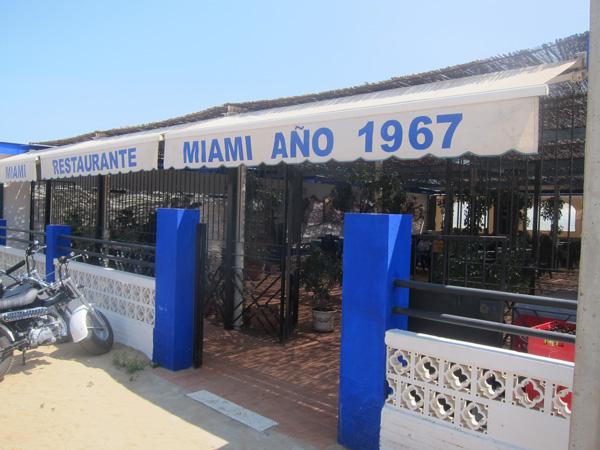 Almorzando en Miami (Punta Umbría)