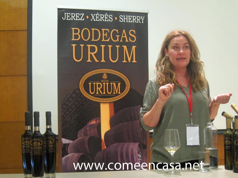Cata de vinos de Bodegas URIUM