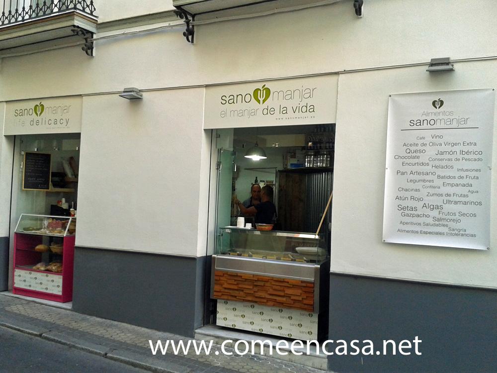SANO MANJAR, tienda gourmet en Sevilla